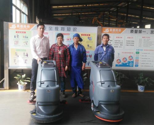 广西嘉德机械用上收米直播安卓版下载清洁车间