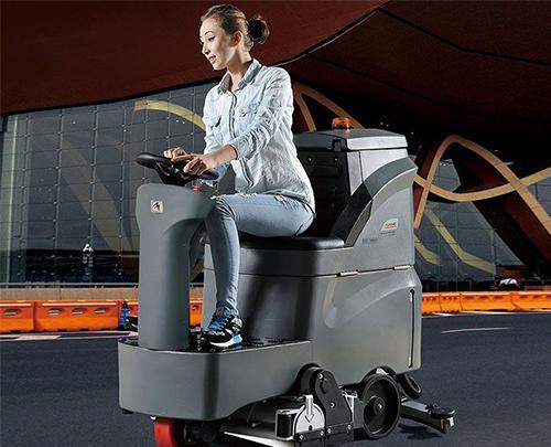 GM-RMINI驾驶式洗扫一体机