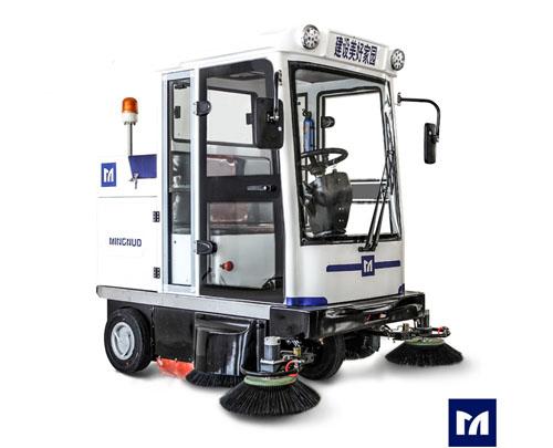 TS-2000全封闭式驾驶型扫地车