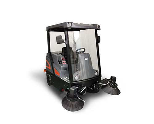 驾驶式扫地机户外吸尘扫树叶厂房扫垃圾吸粉尘智慧清洁长淮S2000广西扫地机免费体验