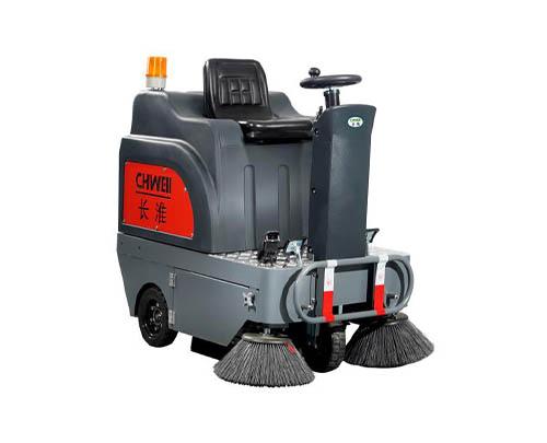 收米体育直播雨燕扫地机长淮CH-S1300电动扫地车工厂停车场小区道路清扫