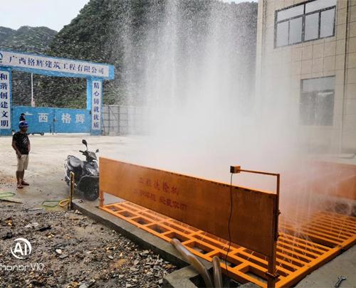 广西工地洗轮机_工程车清洗_建筑工地洗车台设备