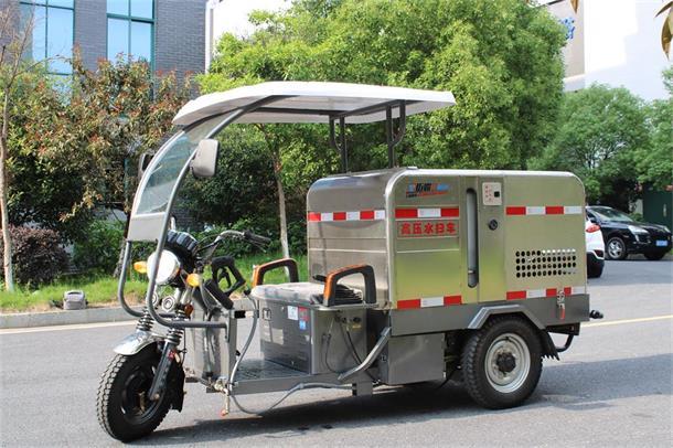 三轮高压冲洗车市政环卫道路地面冲洗高压清洗机