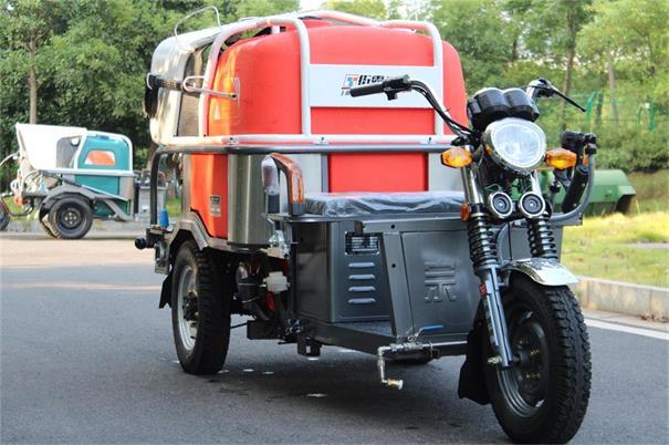 二合一高压冲洗车环卫物业道路冲洗三轮电动高压清洗车